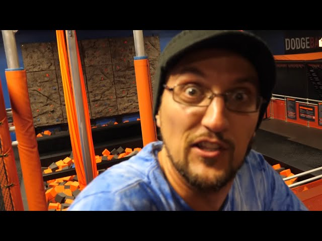 TRAMPOLINE IS LAVA!  Sky Zone X World Jump Day (FV Family Activities Vlog)