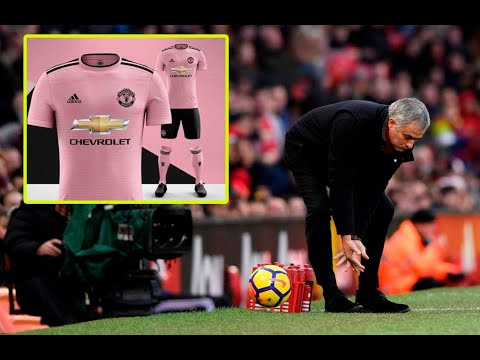 Manchester United s leaked 2018 2019 away kit is pink - YouTube e4f99ea81
