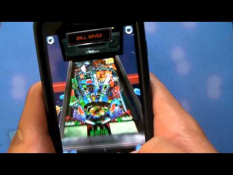 Pinball Arcade By Farsight Studios | Droidshark.com Video Review For Android