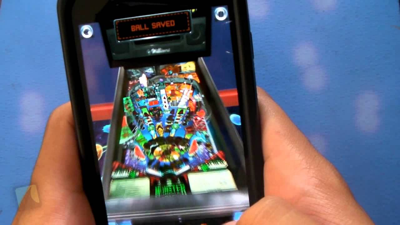 Phone Pinball For Android Phone pinball arcade by farsight studios droidshark com video review for android