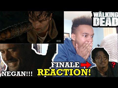 The Walking Dead Season 6 FINALE REACTION!