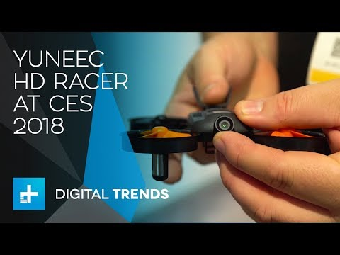 Yuneec HD Racer and Typhoon F Drones at CES 2018