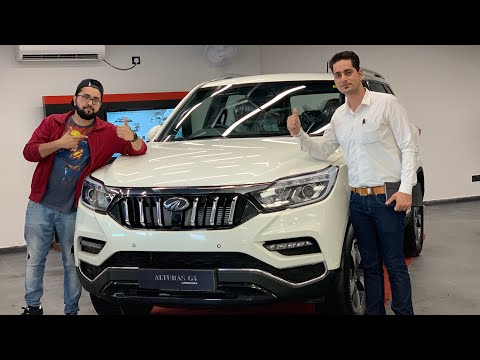 Mahindra Alturas G4 Most Detailed Video | 360 Degree Camera | Hid Projector Headlamps