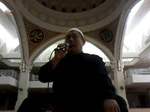Selawat tarhim menjelang subuh di Masjid Ar-Rahah Kg Kerinci Kuala Lumpur