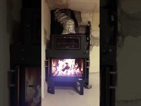 Termocamino ftl con forno genius alimentato a legna con for Ftl termocamini