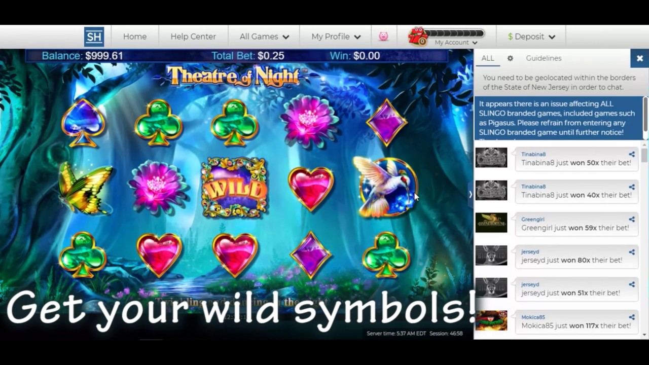 Theatre of Night No Download Slot