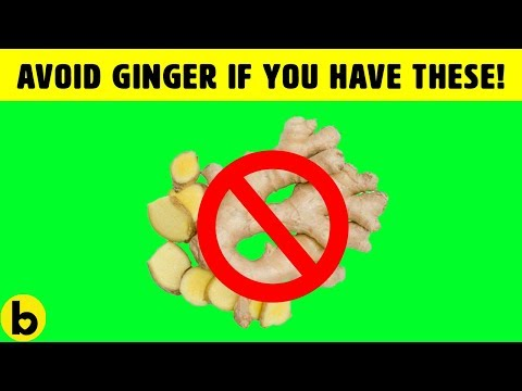 Avoid Ginger If You Have These Health Problems