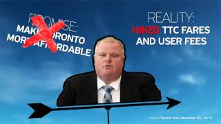 Rob Ford's Broken Promises