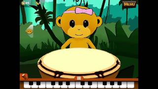 Monkey Drum - PappasAppar.se