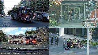 POMPIERS DE MONTRÉAL EN ACTION / FIREFIGHTERS IN ACTION / ON SCENE / 12X