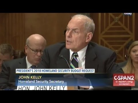 """DHS Head John Kelly""""FEAR! TERROR! TERROR! TERROR! FEAR! FEAR! FEAR! 9/11! $!$!$!$!$!$!"""""""
