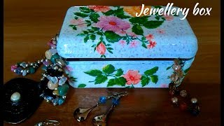 DIY | Jewellery Box | Decoupage Artwork | Designer Box