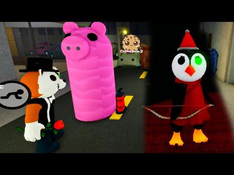 New Giant Piggy Birthday Inflatable Trap + Secret Primrose Skin Roblox Video
