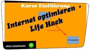 Internet schneller machen und optimieren (Tipp der auch funktioniert!) - Life Hack | Tutorial