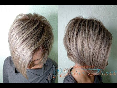 Рецепт окрашивания волос в пепельный блонд