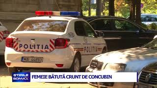 FEMEIE BATUTA CRUNT DE CONCUBIN