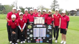 2013 North Pacific Junior Girls Team Canada Celebration