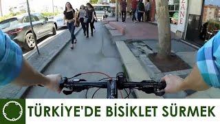 Türkiye'de Bisiklet sürmek (Bisiklet yolu, azıcık trafik) İkiTekeriz [Xiaomi Yi]