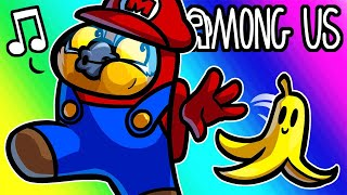 Among Us Funny Moments - Mario Kart Mod!