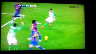 Barcelona-real betis 15 januari 4-2