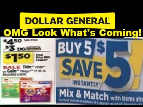 94aba21257 OMG Dollar General Ad 9 24 17 to 9 30 17 - YouTube