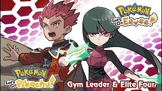Pokemon Let's Go Pikachu & Eevee : Gym Leader/Elite Four Battle Music (GR)