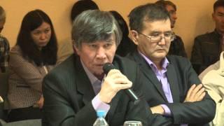 Общественные слушания по вопросу вступления Казахстана в Евразийский экономический союз №7