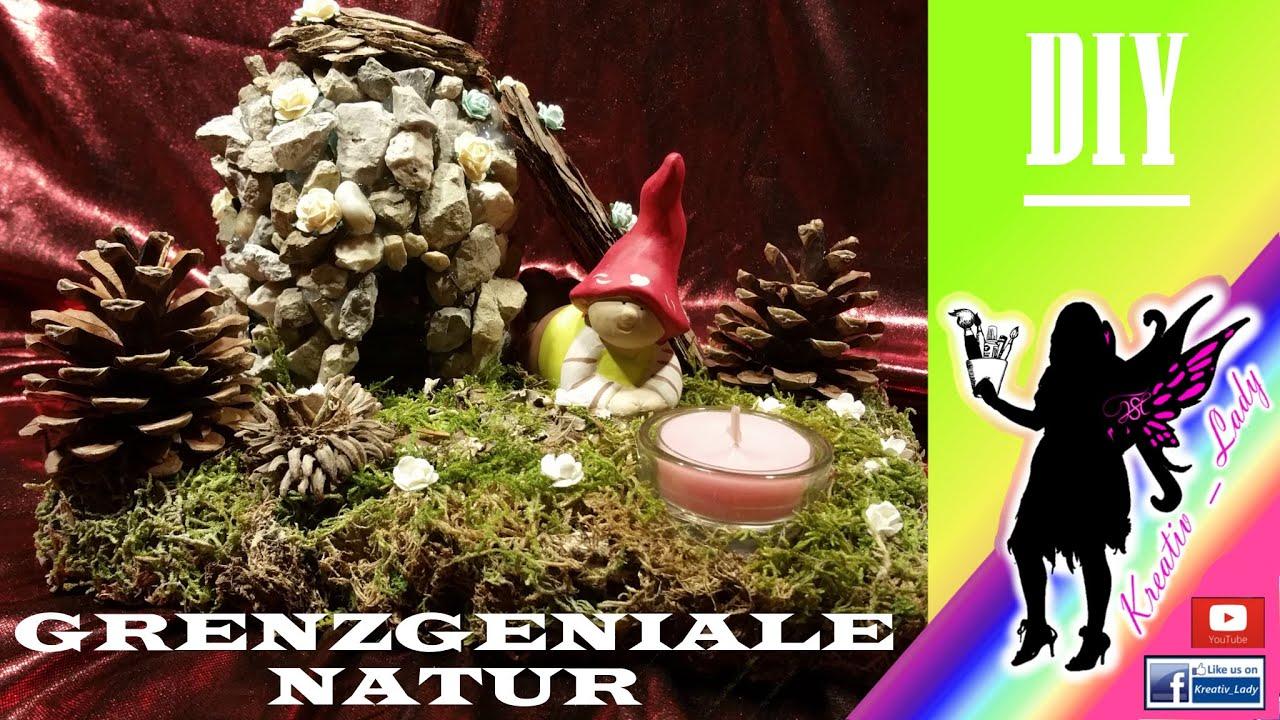 🎨 diy #grenzgeniale natur (basteln mit naturmaterial, Wohnzimmer dekoo