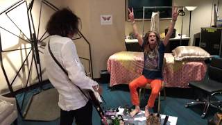 Aerosmith - Deuces Are Wild Las Vegas Backstage - Steven Tyler and Joe Perry