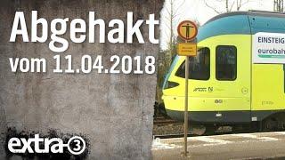 Abgehakt am 11.04.2018