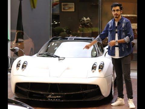 Pagani huayra ferrari f40 and bugatti veyron review in (hindi,urdu)