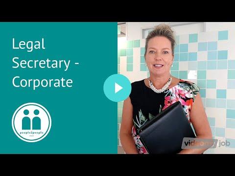 Legal Secretary Sydney - Corporate