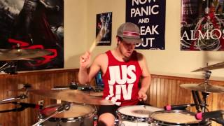 "Yellowcard - ""Light Up The Sky"" - Drum Cover"