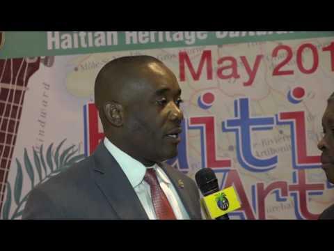 Miami Dade Commissioner Monestime Haitian Heritage Opening Reception