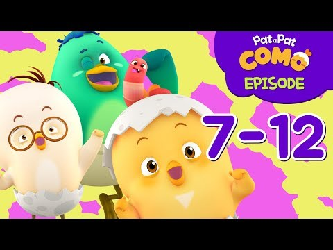 Como Kids TV | Episode 7-12 | Cartoon video for kids