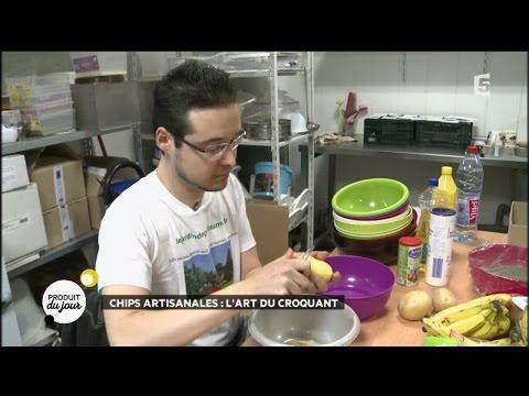Chips artisanales : l'art du croquant
