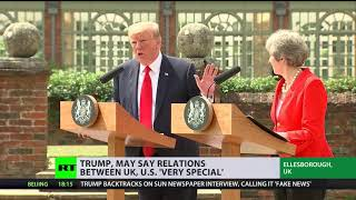 'Highest level of special': Trump praises US-UK relations thumbnail