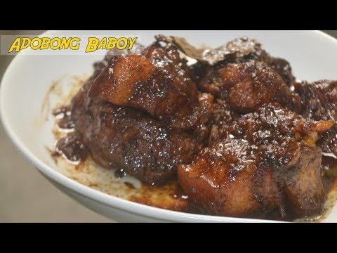 Pinoy Pork Adobo | Adobong Baboy