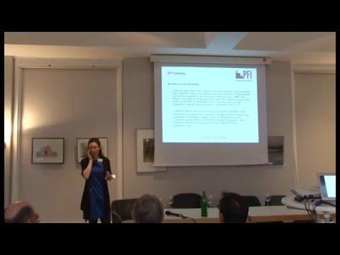 """Luise Fischer, Fraunhofer Zentrum, Leipzig Zum Thema """"The German Discourse On Frugal Innovation"""""""