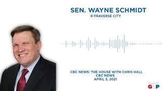 Sen. Schmidt talks Line 5 on The House with Chris Hall on CBC News