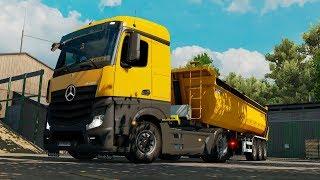 ETS2 1.30 ProMods 2.26 Mercedes Actros MPIV  Lausnitz - Györ