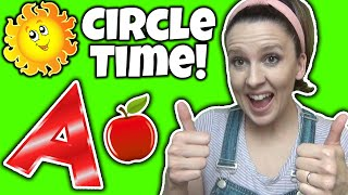 Circle Time for Preschool and Toddlers - Educational Videos for Toddlers in English