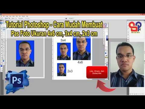 Cara Mudah Cetak Pas Foto 2x3, 3x4, dan 4x6 Dengan Photoshop