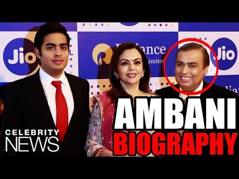 Mukesh Ambani Biography | Jio | Indian Business Magnate | Inspirational & Motivational Personality