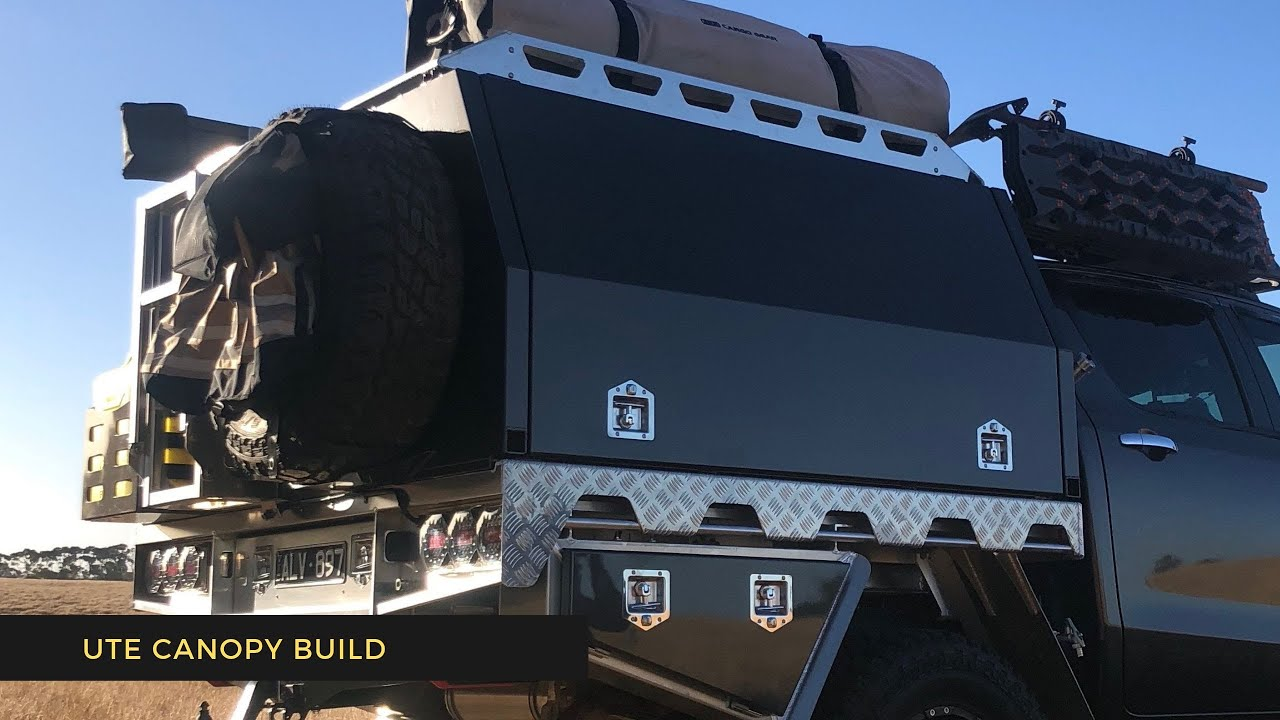 UTE CANOPY BUILD AND INSTALL
