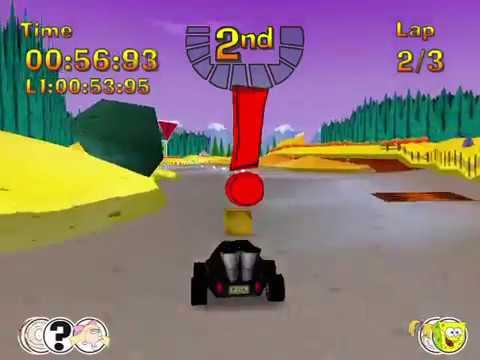 Nicktoons Racing Hard Mode and Solo Bonus Mode