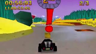 Nicktoons Racing Hard Mode and Solo Bonus Mode