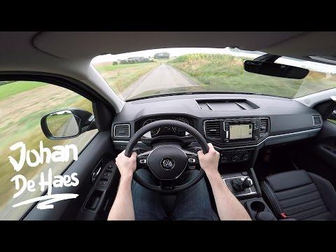2016 VW Amarok 3.0 TDI V6 224hp POV Test Drive GoPro