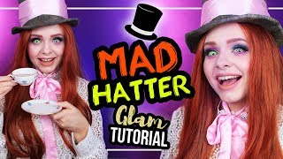 FEMALE MAD HATTER - HUTMACHER - Glam Makeup Tutorial #KarnevalCountdown