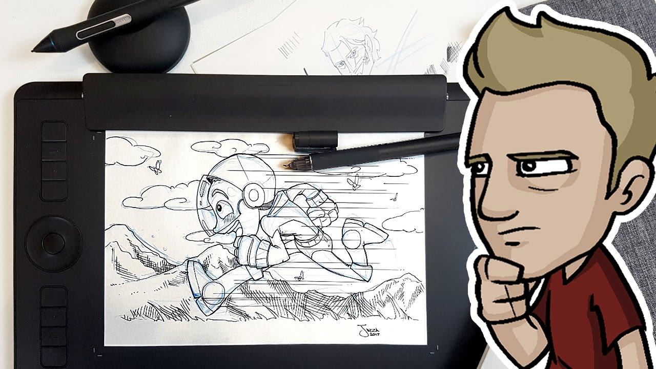 NEW: Wacom Intuos Pro PAPER EDITION! Gimmick or Godsend? (Unboxing & Review)